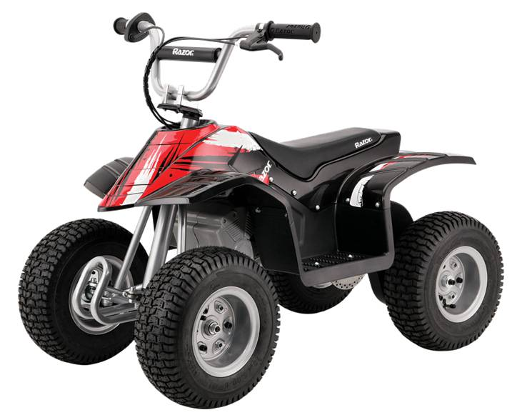 Razor Dirt Quad Bike - Black
