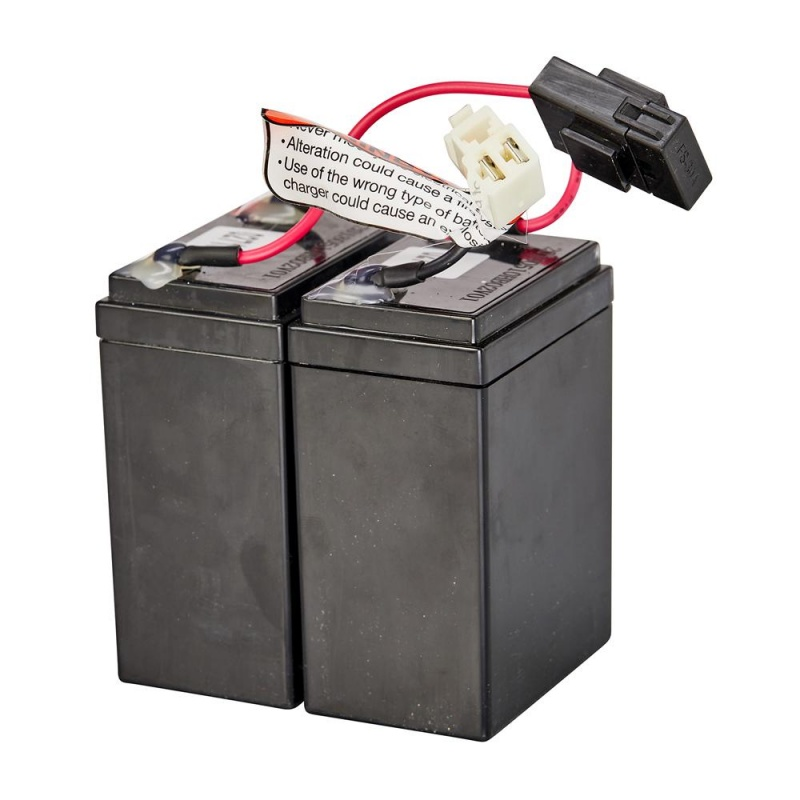 Crazy Cart Shift Battery w/30 Amp Fuse (2 - 12V/2.8Ah)